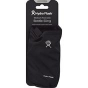 Hydro Flask Bottle Sling, Medium Packable, Black