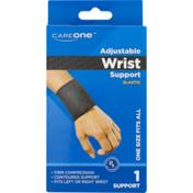 CareOne Adjustable Wrist Support