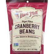 Bob's Red Mill Cranberry Beans, High Fiber