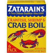 Zatarain's® Crawfish, Shrimp & Crab Boil (Pack of 6)