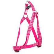 Good2 Go Pink Reflective Bone Dog Comfort Harness Large/X Large