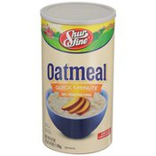 Shurfine Oatmeal Quick 1-minute 100% Whole Grain Cereal