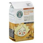Starbucks Coffee, Ground, Mild, Half Caffeinated Breakfast Blend