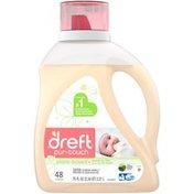 Dreft purtouch HE Liquid Baby Laundry Detergent, 75 fl oz (48 Loads)