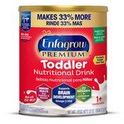 Enfagrow® PREMIUM Toddler Nutritional Drink, Vanilla Flavor, Brain Support and Immune Health, Powder Can
