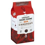 Camerons Coffee, Handcrafted, Whole Beans, Chocolate Caramel Brownie, Decaf