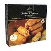 Signature Kitchens Chicken And Vegetable Mini Egg Rolls
