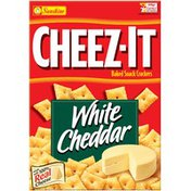 Cheez-It Baked Snack Crackers, White Cheddar