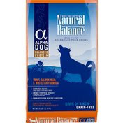 Natural Balance Alpha Dog Trout Salmon Meal & Whitefish Grain Free Dry Dog Food