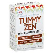 Tummy Zen Total Heartburn Relief, Caplets