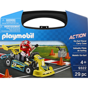 Playmobil Toy, Go-Kart Racer Carry Case