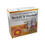 Natural Factors 7 Day Total Nutritional Cleanse With Revitalx & Detoxitech