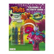 DreamWorks Trolls Coloring & Activity Book