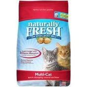 Naturally Fresh Multi-Cat Quick Clumping Natural Cat Litter