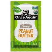 Once Again Peanut Butter, Creamy, Unsweetened, Organic