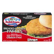 Bell & Evans Chicken Patties Breaded Gluten Free