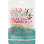 Bela Mineral Bath Soak, Peace + Tranquility