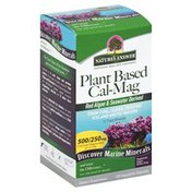 Nature's Answer Cal-Mag, Plant Based, Vegetarian Capsules