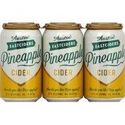 Austin East Ciders Cider, Pineapple