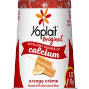 Yoplait Yogurt, Low Fat, Orange Creme, Original
