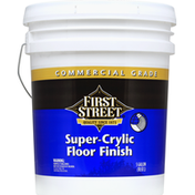 First Street Floor Finish, Super-Crylic