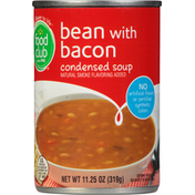 Food Club Condensed Soup, Bean with Bacon