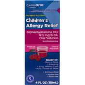 CareOne Children's Allergy Relief 118ml