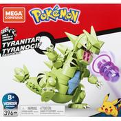 Mega Construx Toy, Tyranitar, Wonder Builders