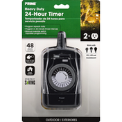 Prima Timer, 24-Hour, Heavy Duty, Outdoor