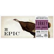 Epic Turkey Bar, Almond+Cranberry
