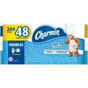 Charmin Ultra Soft Toilet Paper, Double Rolls