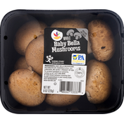 Ahold Mushrooms, Baby Bella, Whole