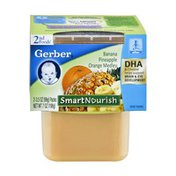 Gerber Smart Nourish 2nd Foods Banana Pineapple Orange Medley - 2CT