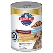 Hill's Science Diet Grain Free Adult Lamb & Potato Entree Premium Dog Food