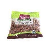 Meijer True Goodness roasted organic almonds with SEA SALT