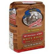 Hodgson Mill Flour, Wheat, White Whole, Stone Ground, Old Fashioned, Bag