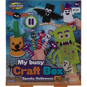 Creative Kids My Busy Craft Box, Spooky Halloween, Ages 4+