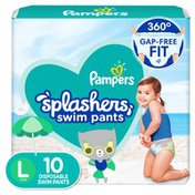Pampers Swim Diapers Size L 10