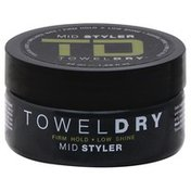 Towel Dry Styler, Mid, Firm Hold + Low Shine