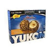Chapman's Yukon Caramel & Toffee Cones