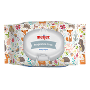 Meijer Baby Wipes, Fragrance Free, Planets