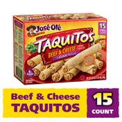 José Olé Beef & Cheese Taquitos