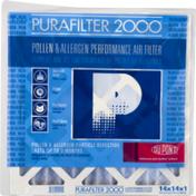 Purafilter 2000 Air Filter, Performance, Pollen & Allergen