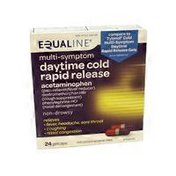 Equaline Multi-symptom Daytime Cold Rapid Release Gelcaps