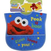 Sesame Street Bib, Waterproof, Sesame Beginnings