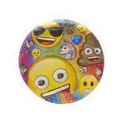 """Unique 9"""" Emoji Paper Plates"""