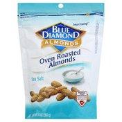 Blue Diamond Almonds, Oven Roasted, Sea Salt
