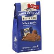 Ghirardelli Chocolate Milk & Truffle
