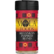 Mola Foods Sri Lankan Inspired Blend, Meat Lovers, Bottle