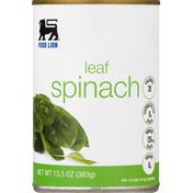 Food Lion Spinach, Leaf